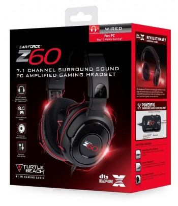 Auscultadores Ear Force Z60...