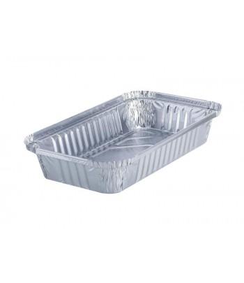 Take Away Embalagem de Alumínio Rectangular 650ml (1000 uds)