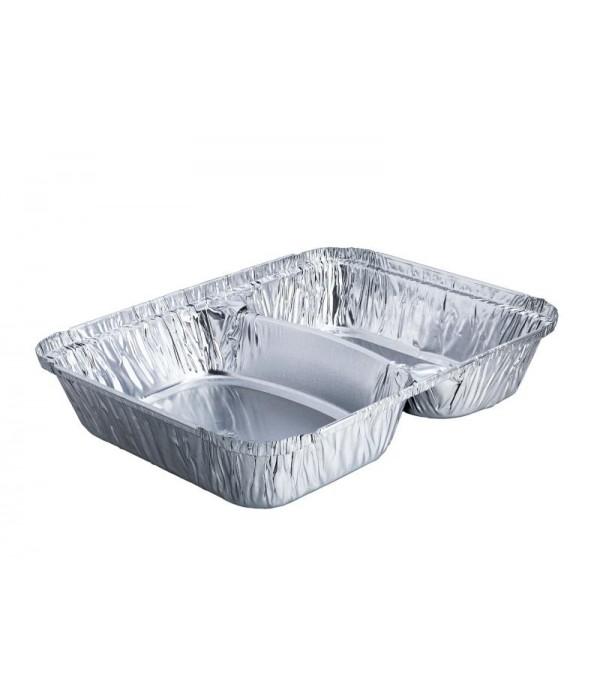Take Away Embalagem de Alumínio Rectangular 830ml (500 uds)