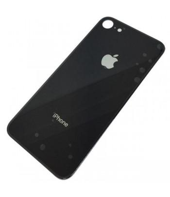Carcaça traseira preta para iPhone 8