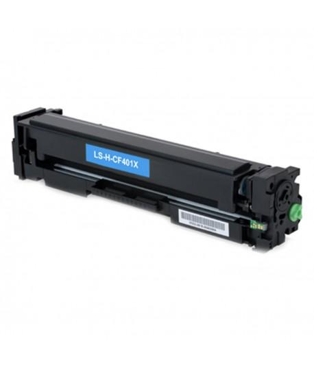 Toner Compatível HP 201X (CF401X) Azul