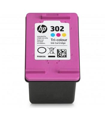 Tinteiro Original HP 302 Cores (F6U65AE)