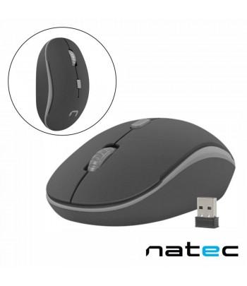 1600DPI USB Preto/Cinza NATEC