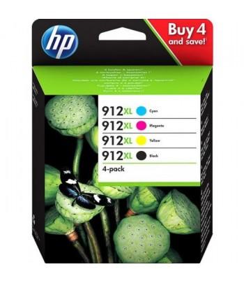 Pack de 4 tinteiros Originais HP 912 XL 3YP34AE