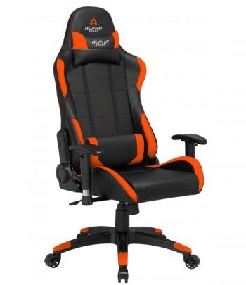 Cadeira Gaming Alpha Gamer Vega Preta/Laranja