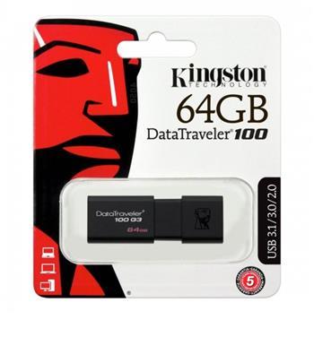 Kingston 64GB DataTraveler 100 G3 USB 3.1/ 3.0/2.0