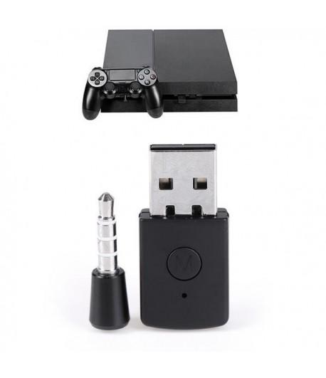 Adaptador USB Transmissor Bluetooth para PS4 Headset