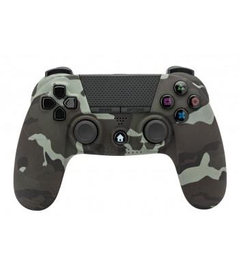 Comando PS4 Undercontrol Sem Fios com Entrada Jack 3.5 - Camuflado