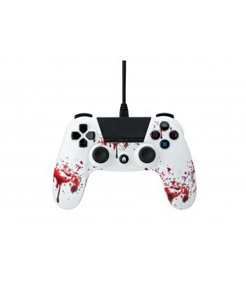 Comando PS4 Undercontrol Com Fios com Entrada Jack 3.5 - Zombie
