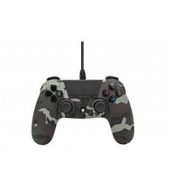 Comando PS4 Undercontrol Com Fios com Entrada Jack 3.5 - Camuflado