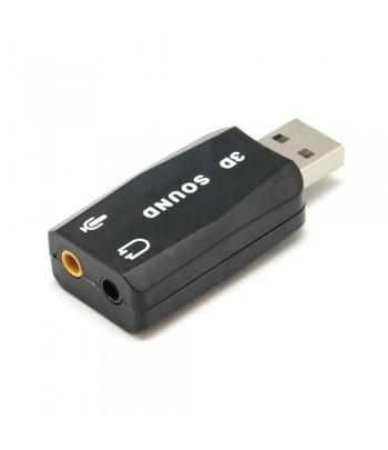 Adaptador USB Audio...