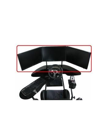 Triple monitor mount Obutto...