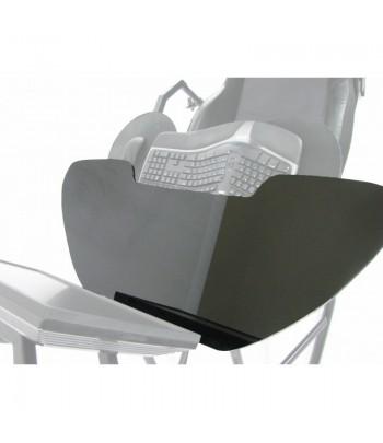 Black acrylic tabletop...
