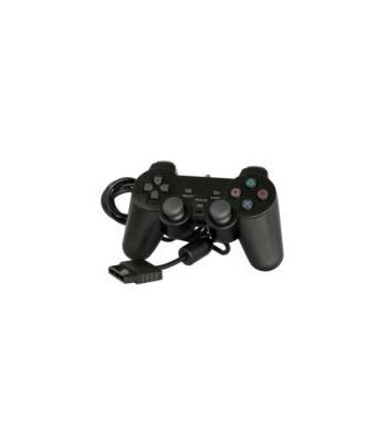Comando Compativel  Dual Shock 2 PS2 Preto