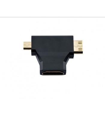 Adaptador 3 em 1 HDMI Femêa...