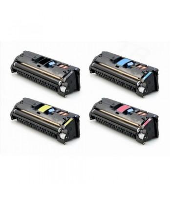 Pack 4 TONERS (122A) Q3960A...