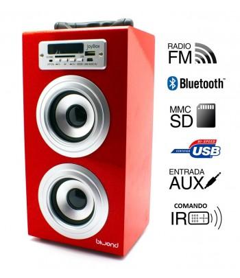 Coluna + Radio com...
