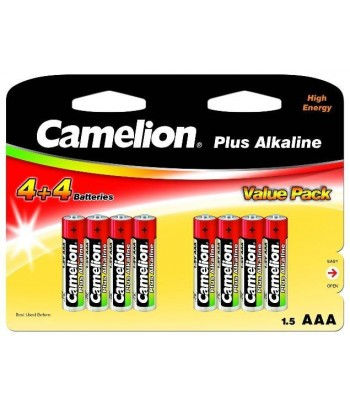 Pilhas Plus Alcalina AAA /...