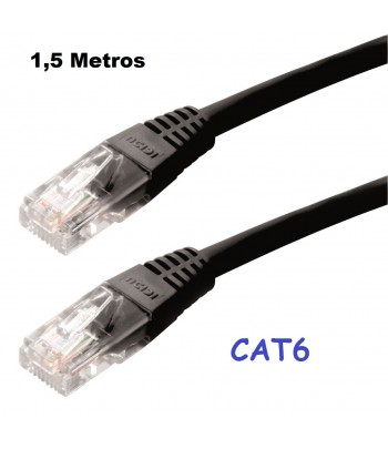 CABO DE REDE COM 1.5MT CAT6...
